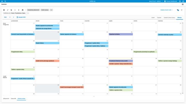 CRM_kalendarz